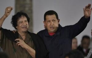 Moammar Gadhafi, Hugo Chavez