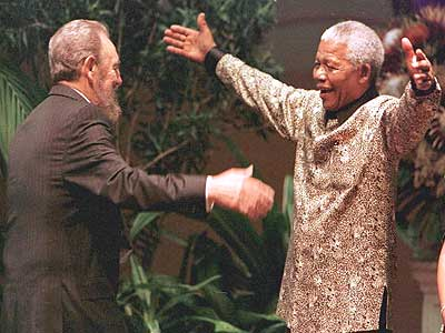 Fidel and Madiba