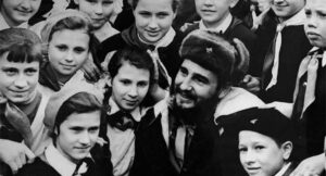 Fidel in Moscow